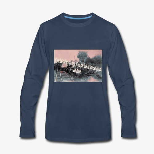 If you fall design - Men's Premium Long Sleeve T-Shirt
