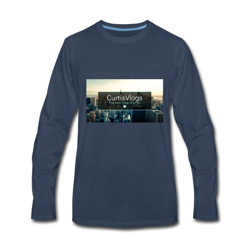 CurtisVlogs - Men's Premium Long Sleeve T-Shirt
