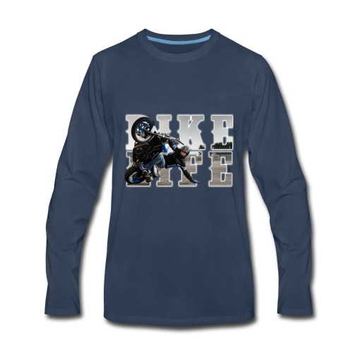 bikelife phototext - Men's Premium Long Sleeve T-Shirt
