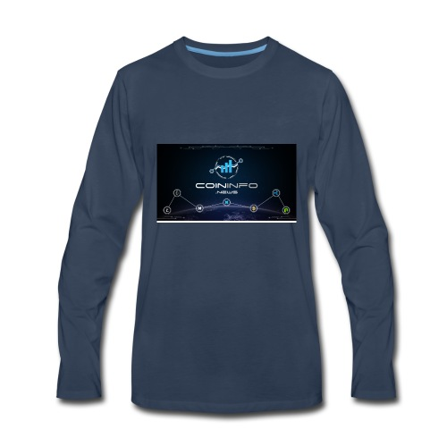 Cryptocurrency - Men's Premium Long Sleeve T-Shirt