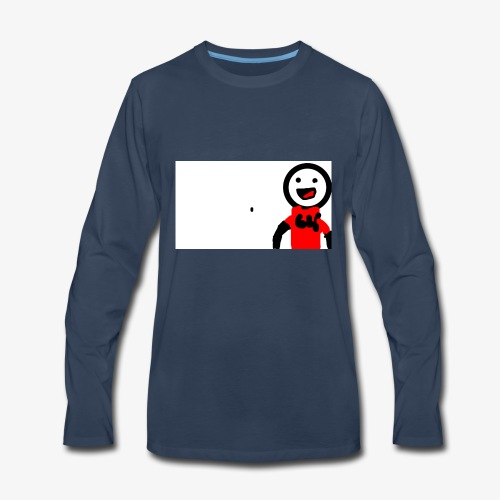 The first animation - Men's Premium Long Sleeve T-Shirt