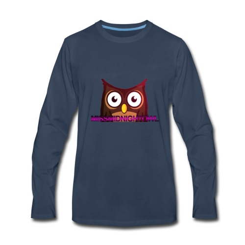 MissMidnightOwl male clothing - Men's Premium Long Sleeve T-Shirt