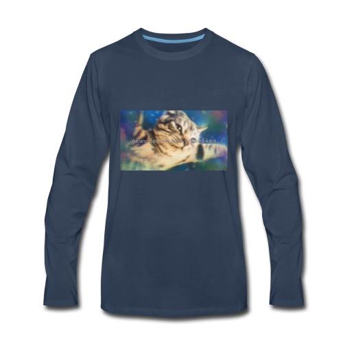 Epic galaxy cat - Men's Premium Long Sleeve T-Shirt
