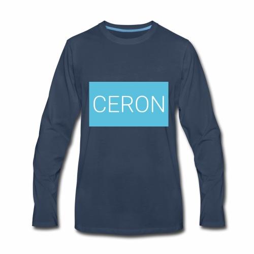 CERON blue - Men's Premium Long Sleeve T-Shirt