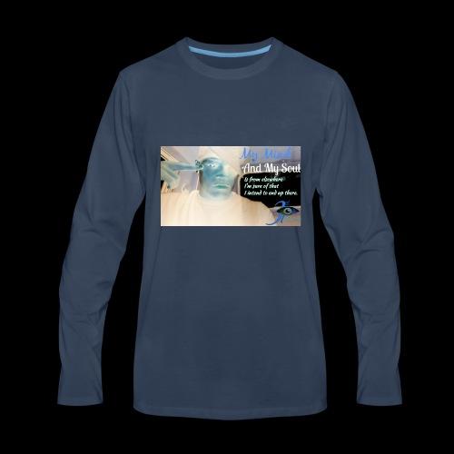 3rd eye quotes - Men's Premium Long Sleeve T-Shirt