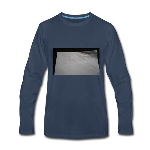 Kennedy k - Men's Premium Long Sleeve T-Shirt