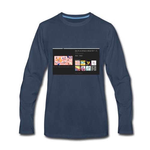 poster - Men's Premium Long Sleeve T-Shirt
