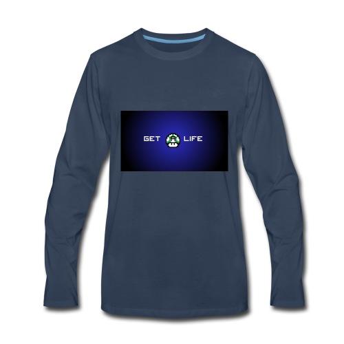 Get a life hoodie - Men's Premium Long Sleeve T-Shirt
