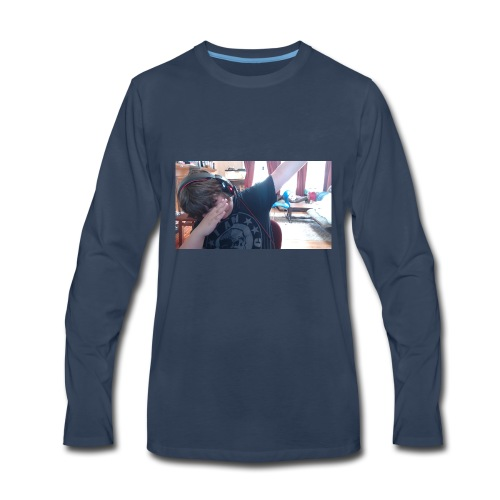Picture 4 - Men's Premium Long Sleeve T-Shirt