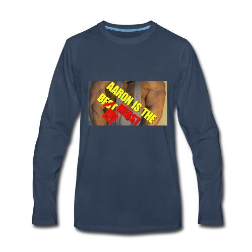 AARON IS THE BEAST - Men's Premium Long Sleeve T-Shirt