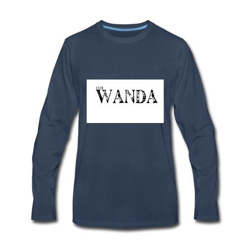 i am wanda - Men's Premium Long Sleeve T-Shirt