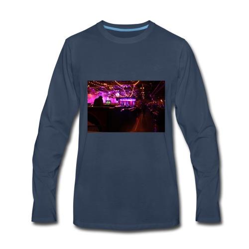 brooklyn bowl - Men's Premium Long Sleeve T-Shirt
