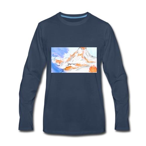 Land - Men's Premium Long Sleeve T-Shirt