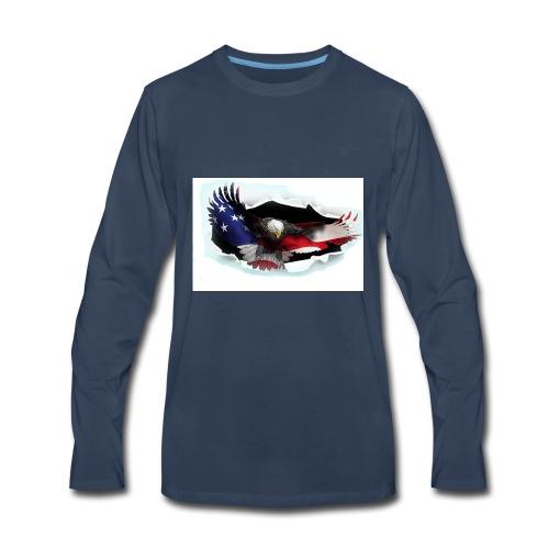 3DEagle - Men's Premium Long Sleeve T-Shirt