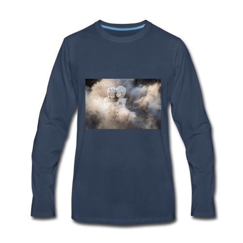 abstract angelic art - Men's Premium Long Sleeve T-Shirt