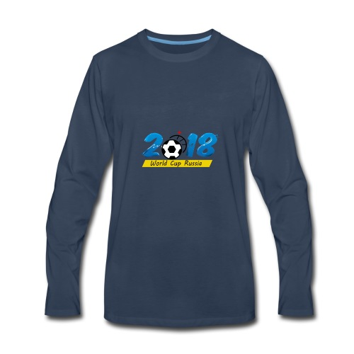 Playeras para el mundial 2018 Rusia - Men's Premium Long Sleeve T-Shirt