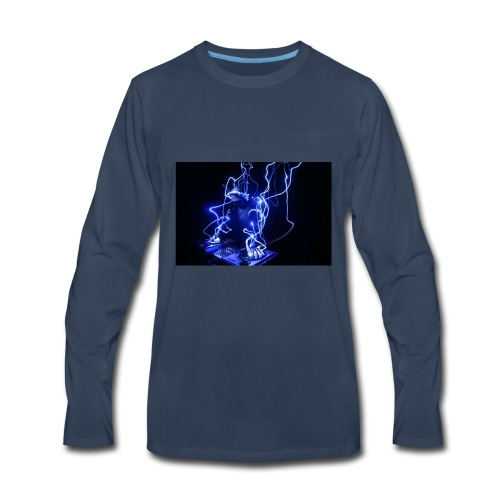 TheIronVibez music merch - Men's Premium Long Sleeve T-Shirt