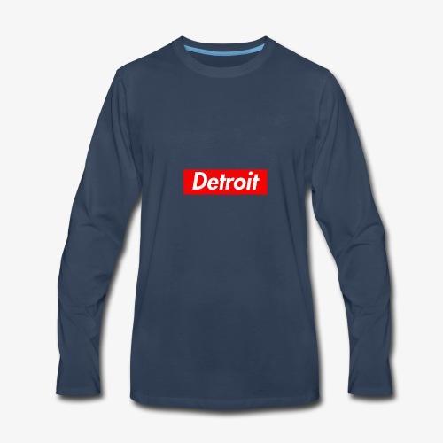 Detroit Bogo Hoodie - Men's Premium Long Sleeve T-Shirt