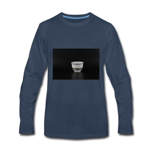 Arabic coffee cup - Men's Premium Long Sleeve T-Shirt