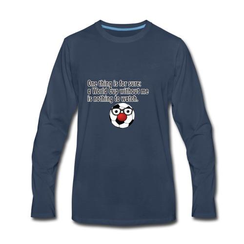 football - Men's Premium Long Sleeve T-Shirt