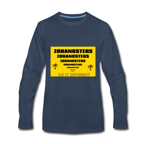 Big To Small ZOHANGSTERS TEE - Men's Premium Long Sleeve T-Shirt