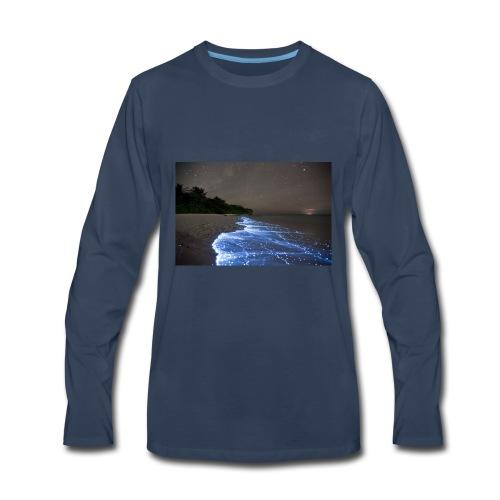 Walk with stunning nature - Men's Premium Long Sleeve T-Shirt