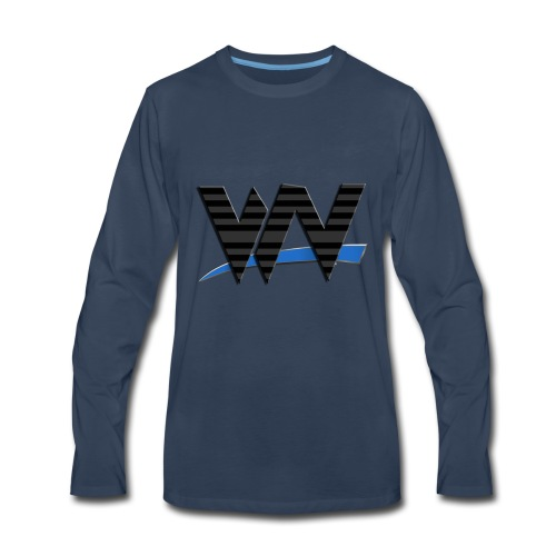Wrestling News Merch - Men's Premium Long Sleeve T-Shirt