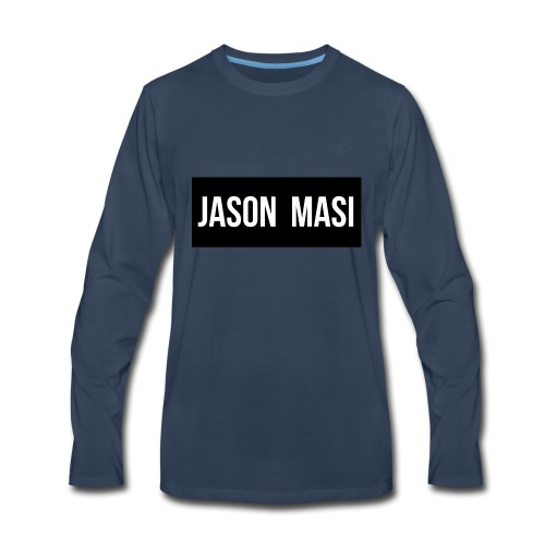 jason-masi-name - Men's Premium Long Sleeve T-Shirt