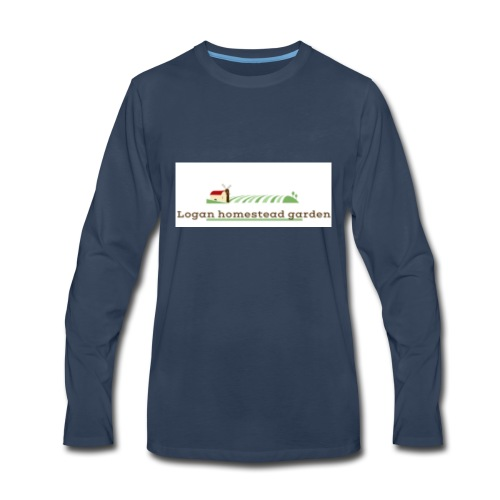 Homesteadlogo - Men's Premium Long Sleeve T-Shirt