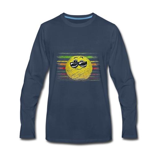 KEEP COOL SMILEY - Men's Premium Long Sleeve T-Shirt