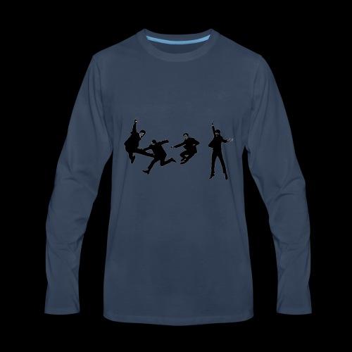 beatles jump - Men's Premium Long Sleeve T-Shirt