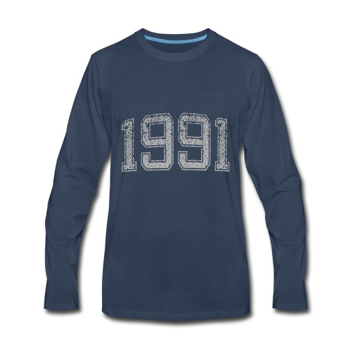 1991 Year Vintage - Men's Premium Long Sleeve T-Shirt