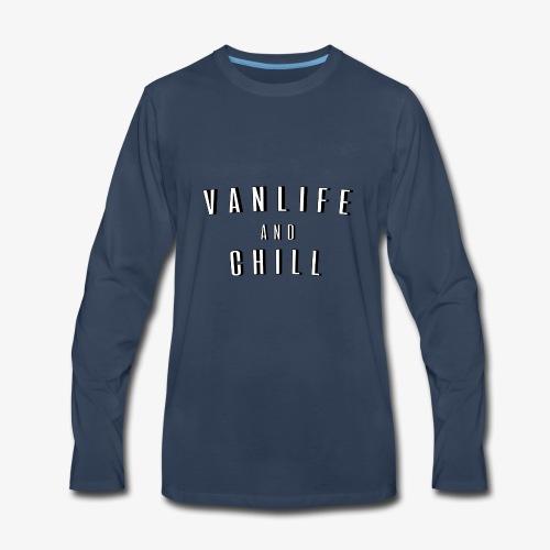Van Life and Chill - Men's Premium Long Sleeve T-Shirt
