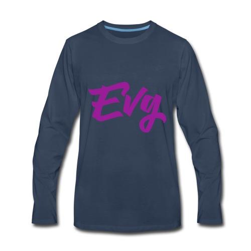 eVG Logo - Men's Premium Long Sleeve T-Shirt