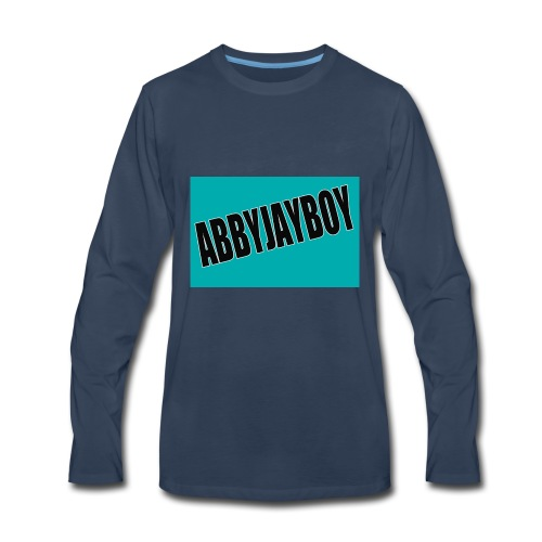 ABBYJAYBOY - Men's Premium Long Sleeve T-Shirt