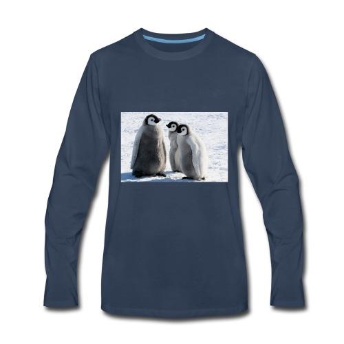 we the penguin sauad - Men's Premium Long Sleeve T-Shirt