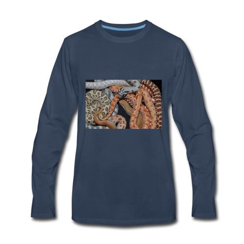 Hognose Morphs Phone Cover - Men's Premium Long Sleeve T-Shirt