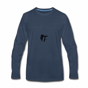 International thrills logo - Men's Premium Long Sleeve T-Shirt