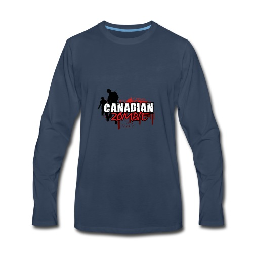 Canadian Zombie - Men's Premium Long Sleeve T-Shirt