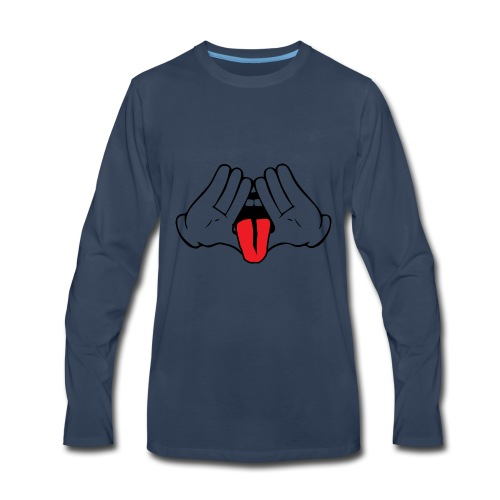 IlluminatiMouse - Men's Premium Long Sleeve T-Shirt