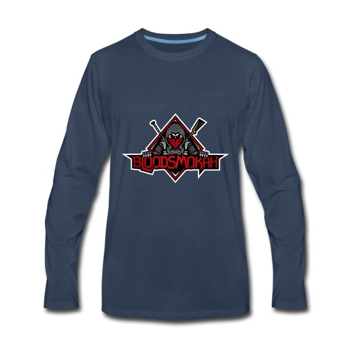 Bloodsmokah T-Shirt - Men's Premium Long Sleeve T-Shirt