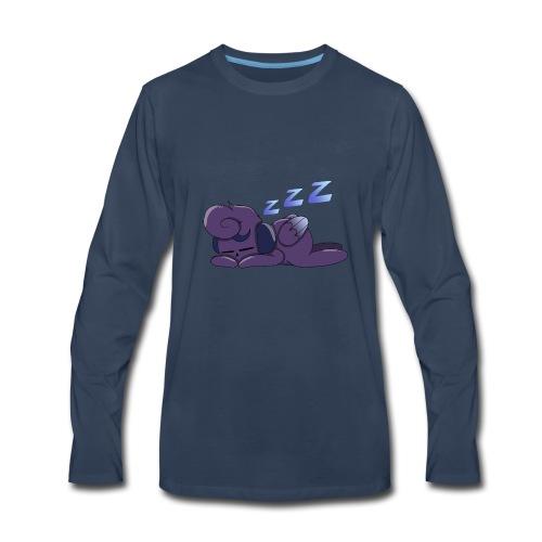 Sleeping Mooncalf - Men's Premium Long Sleeve T-Shirt