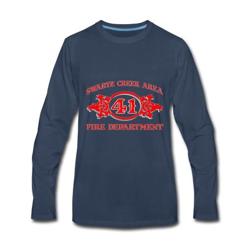 SCAFDSCRAMBLE2 - Men's Premium Long Sleeve T-Shirt