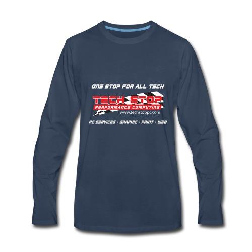 TS TShirtBackDesign2018 - Men's Premium Long Sleeve T-Shirt