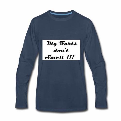 #myfarts2 - Men's Premium Long Sleeve T-Shirt