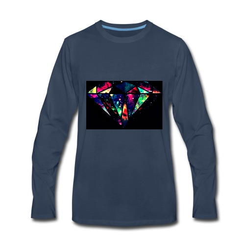 diamond-7 - Men's Premium Long Sleeve T-Shirt