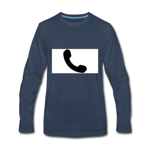 telephone - Men's Premium Long Sleeve T-Shirt