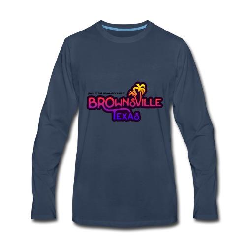 Brownsville, Texas - Men's Premium Long Sleeve T-Shirt