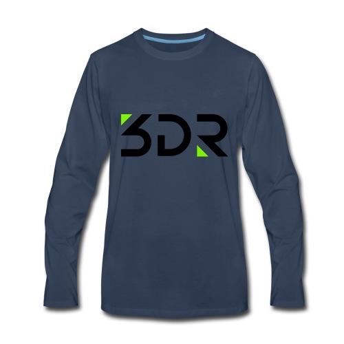 3dr logo - Men's Premium Long Sleeve T-Shirt