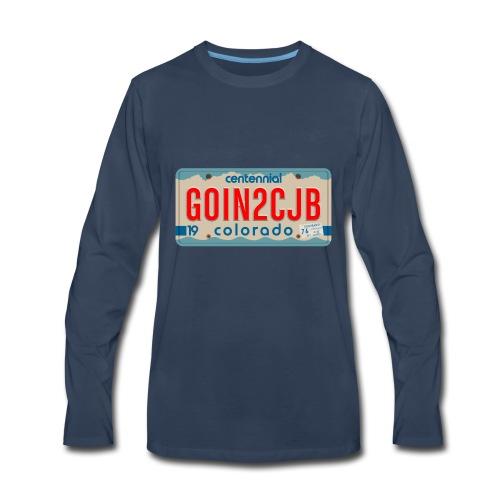 GOIN2CJB Colorado Plate - Men's Premium Long Sleeve T-Shirt